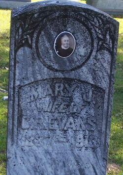 Mary Jane <i>Farrell</i> Evans
