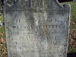 Rev Francis Bennett