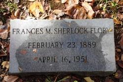 Frances M <i>Sherlock</i> Flory