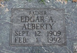 Edgar A Alberty