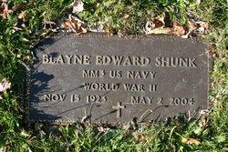 Blayne Edward Doc Shunk