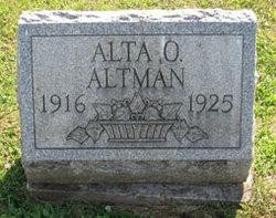 Alta Orminda Altman