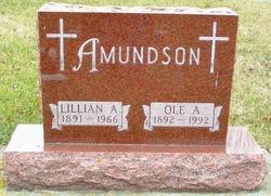 Lillian A <i>Bruns</i> Amundson