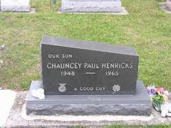 Chauncey Paul Henricks