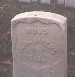 Pvt James Amos Myers