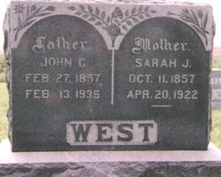 Sarah Jane <i>Reynolds</i> West