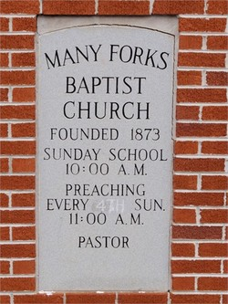 Many Forks Baptist Church Cemetery