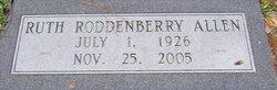 Ruth <i>Roddenberry</i> Allen