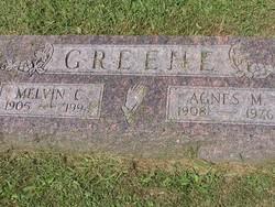 Agnes Mae <i>Hill</i> Greene