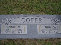Annie Mae Emily <i>Weems</i> Cofer