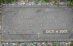 Sallie L <i>Brenneman</i> Earl
