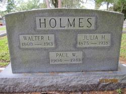 Walter L Holmes