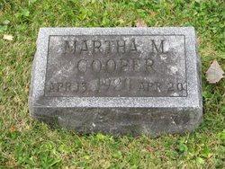 Martha M Cooper