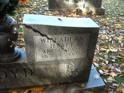Willadean <i>Hyatt</i> Boyd