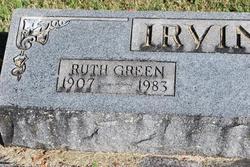 Ruth <i>Green</i> Irvine