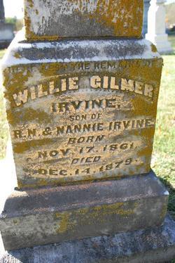 Willie Gilmer Irvine