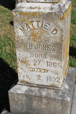 Mattie D Jones