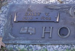 Mrs Sally Victoria <i>Chewning</i> Hobson