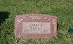 Betty K Long