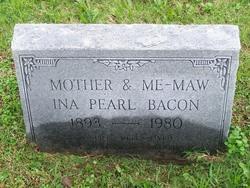 Ina Pearl <i>Cravens</i> Bacon