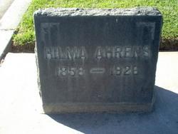 Hilma Helen <i>Hendrick</i> Ahrens