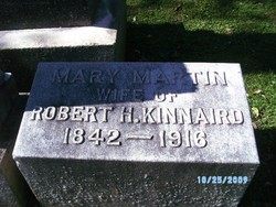 Mary <i>Martin</i> Kinnaird