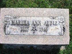 Martha Ann Auble