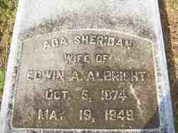 Ada <i>Sheridan</i> Albright
