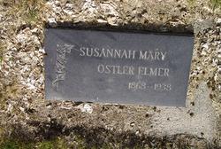 Susannah Mary <i>Ostler</i> Elmer