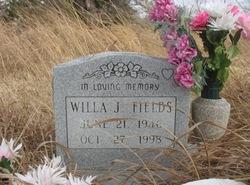 Willa J. Fields