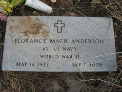 Florance Mack Anderson