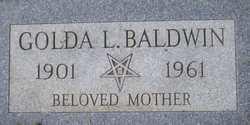 Golda Lea <i>Durrett</i> Baldwin