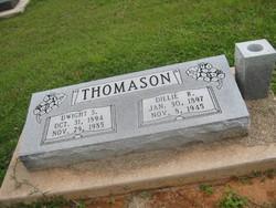 Delila Rebecca Dillie <i>Pearson</i> Thomason