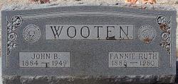 Fannie Ruth Wooten