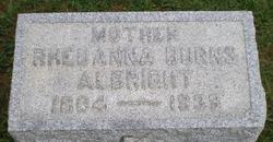 Rheuanna <i>Burns</i> Albright