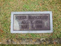 Myrtle B Merty <i>Alvis</i> Blankenship