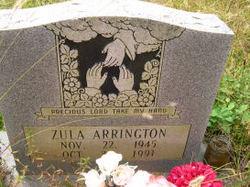 Zula Ann <i>Ball</i> Arrington