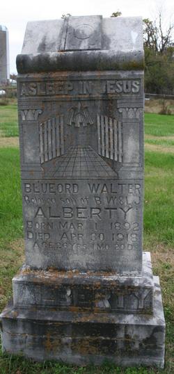 Bluford Walter Alberty