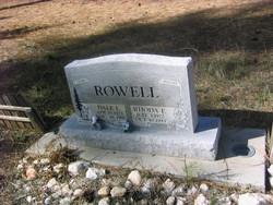 Rhoda E Rowell