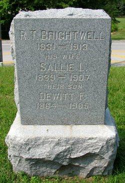 DeWitt Francis Frank Brightwell