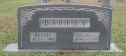 Rev Guy Simnie Barton