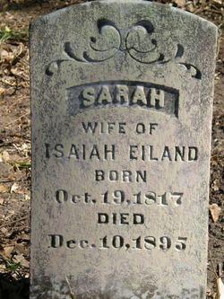 Sarah A <i>Caffey</i> Eiland