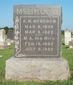 Martha A. <i>Little</i> McBroom