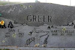 Martha Belle <i>Parlier</i> Greer