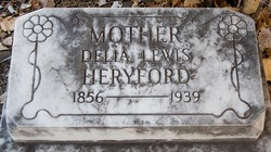 Delia M <i>Pratt</i> Heryford