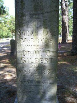 Sarah Jane <i>McBryde</i> Gilbert