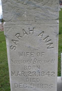 Sarah Ann <i>Cashman</i> Barnett