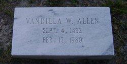 Susan Vandilla <i>Wainright</i> Allen