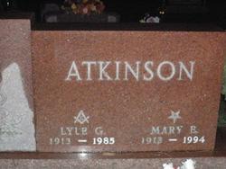 Mary Elizabeth Atkinson