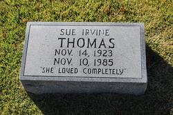 Sue <i>Irvine</i> Thomas